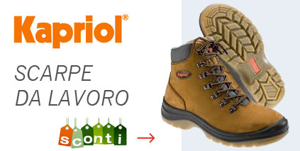 Scarpe antinfortunistiche kapriol